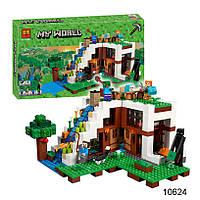 Конструктор Bela Minecraft 10624 База на водопаде 747 деталей