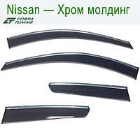 Nissan Murano III (Z52) 2016 Хром Молдинг — ветровики/дефлекторы окон (комплект)