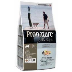 Сухой корм для собак Pronature Holistic (Пронатюр Холистик) с атлантическим лососем и коричневым рисом, 13,6
