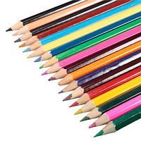 18 цветов деревянные цветные карандаши для тайных сада раскраски рисование картины