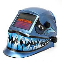 Синий клык стиль solax авто-затемнение сварочный шлем сварщика маска дуговой сварки ВИГ миа шлифования