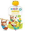 Органічне фруктове пюре HiPP HiPPiS Яблуко-груша-банан, 100 г