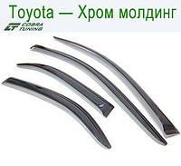Toyota Avensis Sd 2003-2008 Хром Молдинг — ветровики/дефлекторы окон (комплект)