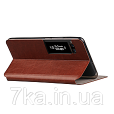 Чехол (книжка) Mofi на Meizu Pro 7 Brown, фото 2