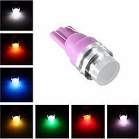 Изменение цвета RGB 1 LED початка T10 W5W клина боковой свет автомобиля светильника шарика 12v