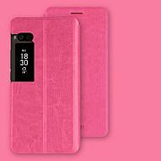 Чехол (книжка) Mofi на Meizu Pro 7 Pink