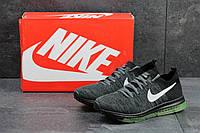 Кроссовки Nike мужские (серые с черным), ТОП-реплика, фото 1