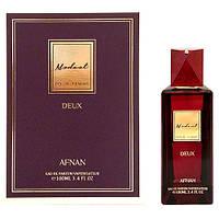 Женская нишевая восточная парфюмированная вода Afnan Modest Deux Pour Femme 100ml