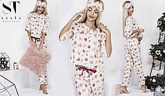 Потрясающая пижама для сна с принтом