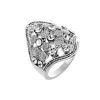 Шикарное женское кольцо Грация р 16,5
