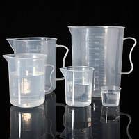20 мл до 1000 мл пластика закончил мерный стакан с носиком кувшина лаборатории объем измерительного инструмента
