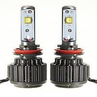 Пара 60w Turbo LED Фара лампа H11 H9 H8 7200lm 6000K с проволокой