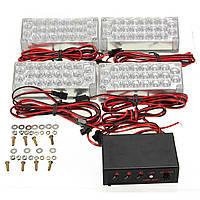 10.5v-13.5V 22 х LED флэш-строба автомобиля 4 бара оповещения о чрезвычайных ситуациях Гриль свет лампы