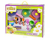 Набор игрушечной посуды столовый Ромашка
