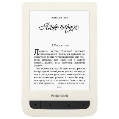Электронная книга PocketBook 625 Basic Touch 2, WiFi, Biege (PB625-F-C