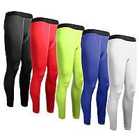 Мужчины спортивные брюки базовые слои компрессионные колготки длинные брюки для тренировки пригодности