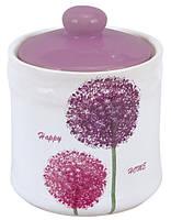 Happy Home Банка для сыпучих 550мл керамика Limited Edition