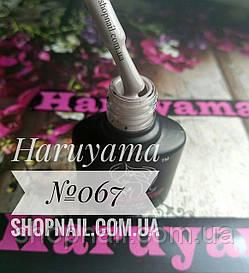 Гель-лак Haruyama №067 (серо-кофейный), 8 мл, фото 2