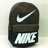 Рюкзак молодежный Nike, Найк черный с коричневым, фото 1