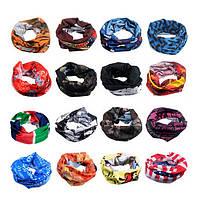 Мужчины женщины Snood бандана глава маска шеи теплый спорта работает верхом шарф