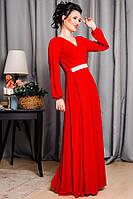 Красное вечернее платье  -Тейлор-