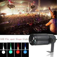 3W LED Moonflower Spotlight DJ Disco Party Club Освещение сцены