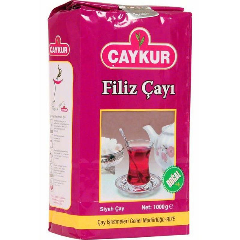 Чай турецкий  черный мелколистовой Caykur Filiz Cayi 1000 г