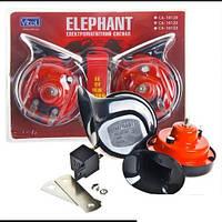 Сигналы звуковые Elephant с реле СА-10122