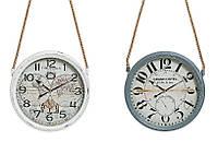 Круглые часы настенные Винтаж