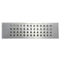 52 отверстий 0.26-4.0mm карбида вольфрама провод фильера для ювелирных изделий оборудования
