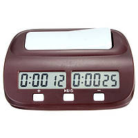 Компактная цифровая электронная шахматные часы обратного отсчета Таймер игры для настольной игры игрока