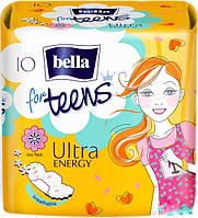 Прокладки Bella for teens Ultra Energy 4 к. 10 шт.