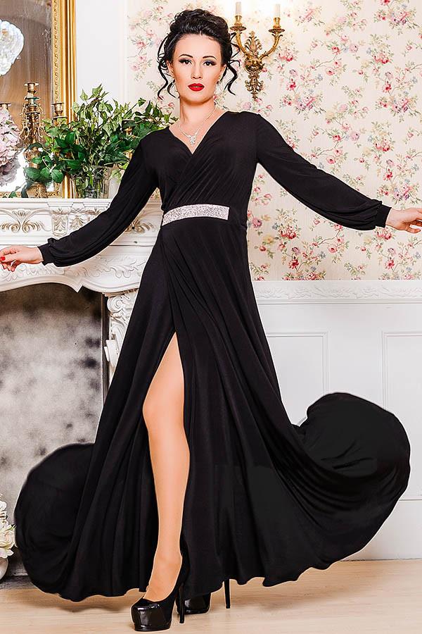 Черное вечернее платье  -Тейлор-