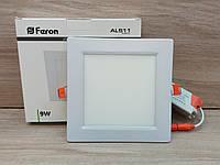 Cветильник cветодиодный Feron AL511 9W 4000K встраиваемый