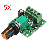 5pcs низкого напряжения постоянного тока регулятор скорости 1.8 3v 5В 6v 12v 2a двигателя ШИМ 1803b - 1TopShop