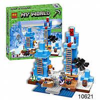 Конструктор Bela Minecraft 10621 Ледяные шипы , 460 деталей