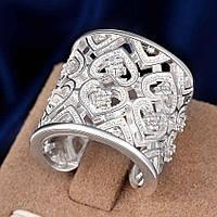Шикарное женское массивное кольцо реплика Тиффани р 17,5