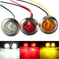 LED Габаритный свет колбы лампы поворота индикатор грузовик прицеп янтарь красный белый