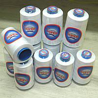 Нитки швейные белые 40/2 4000ярдов Super