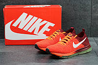 Кроссовки мужские Nike Zoom All Out летние текстильные яркие кросовки в стиле найк зум оранжевые с бордовым