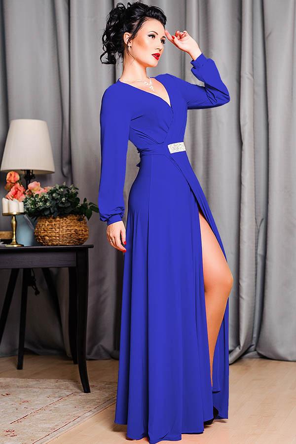Вечернее платье -Тейлор- электрик