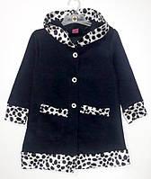 Пальто на байке для девочки (4-8 лет)