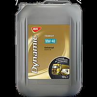 Полусинтетическое моторное масло Mol Dynamic transit 10w-40 10L