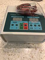 Аппарат для гальванизации и электрофореза ПОТОК-01М с таймером, с кабелем пациента
