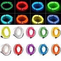 5m 10 цветов 3В гибкий неон провода EL свет Dance Party декора свет