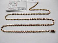 Золотая цепочка Б/У плетение ЖГУТИК - 6.09 г. 52 см. Золото 585 пробы, фото 1