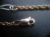 Золотая цепочка Б/У плетение ЖГУТИК - 6.09 г. 52 см. Золото 585 пробы, фото 7