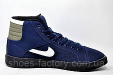 Мужские Кроссовки в стиле Nike Air Jordan Sky High Retro, Dark Blue, фото 3 9b907e52d27