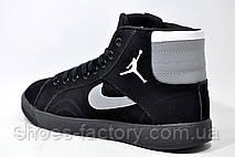 Мужские Кроссовки в стиле Nike Air Jordan Sky High Retro, Black, фото 3 bb79b33efec