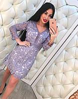 Женское платье с кружевом, фото 1